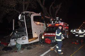 عکس/ 57 کشته و زخمی در سانحه اتوبوس