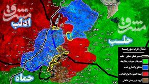 ادامه درگیری نیروهای مقاومت با تروریستها در محور شمالی فرودگاه ابوظهور/ تروریستها در جنوب حلب و شمال شرق استان حماه محاصره شدند