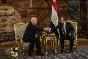 دیدار معاون ترامپ و رئیس جمهور مصر حول مسائل منطقه
