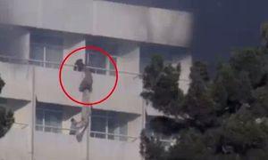 فیلم/ فرار از آتش در هتل اینترکنتیننتال کابل