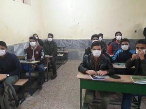 عکس/ وضعیت کلاس درس شهرستان دهلران