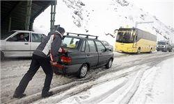 برف و کولاک ۱۷ استان کشور را در نوردید