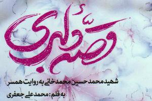 کتاب قصه دلبری - شهید محمدحسین محمدخانی - کراپشده