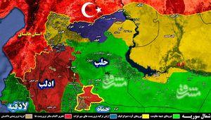 پس از فرودگاه، نوبت به شهرک ابوظهور در شرق ادلب رسید/ آخرین مرحله عملیات پاکسازی خط راه آهن «دمشق - حلب» پس از ۵ سال اشغال آغاز شد + نقشه میدانی