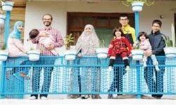 خانواده ۸ نفرهای که دل به دریا زدند