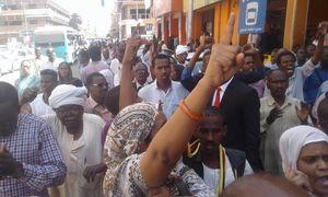 عکس/تظاهرات مردم سودان علیه عمر البشیر