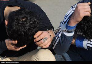 عکس/ دستگیری فروشندگان مشروبات الکلی در ولنجک