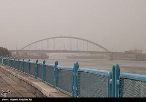 گرد و غبار در خرمشهر