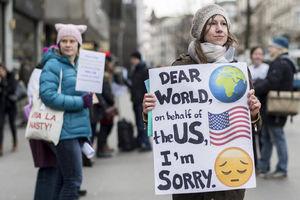 تظاهرات سراسری زنان در آمریکا و اروپا