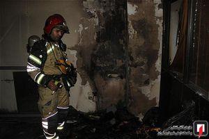 عکس/ آتشسوزی آرایشگاه زنانه در تهران