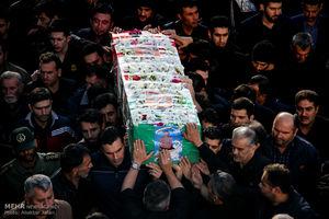 عکس/ تشییع پیکر جانباز شهید حبیب حمزهای