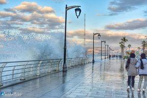 تصاویر زیبا از سواحل بیروت