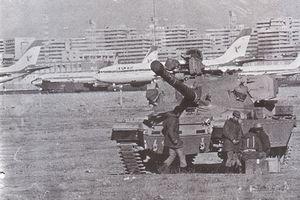 محاصره مهرآباد با تانک