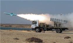 موشک کروز نصر در جریان رزمایش ارتش شلیک شد