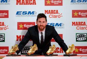 رتبه عجیب مسی در رقابت نفسگیر کفش طلا