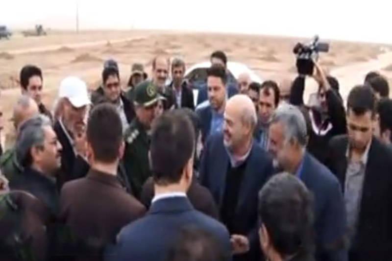 فیلم/ ريزگردها حجتي و کلانتري را به خوزستان کشاند