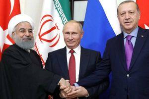 روحانی و پوتین و اردوغان