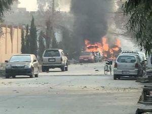 اولین تصاویر از انفجار خونین افغانستان