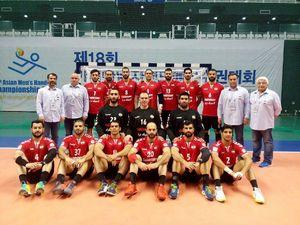 پنجمی تیم ملی هندبال ایران در آسیا