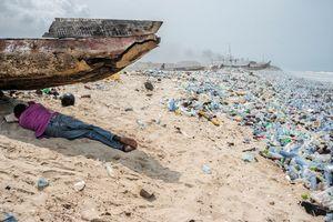 عکس/ کثیفترین ساحل دنیا