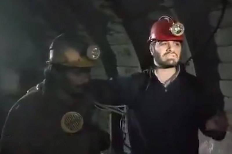 فیلم/ میثم مطیعی در معدن زغالسنگ