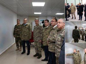 عکس/ اردوغان با لباس نظامی