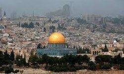 شلیک بمبصوتی بهسمت معترضان فلسطینی