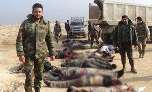 عملیات ناکام داعش در دیرالزور