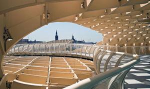 عکس/ بزرگترین بنای چوبی جهان در اسپانیا