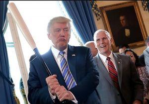 سخنرانی عجیب ترامپ در دفتر سیا