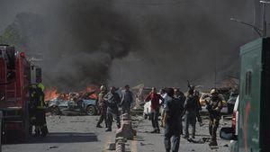 انفجاری مهیب کابل را به لرزاند +عکس