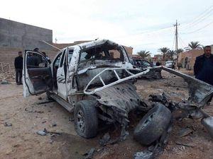عکس/ حمله بالگرد آمریکایی به «الرمادی»