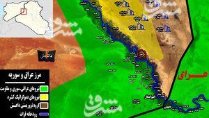جنگ اطلاعاتی تمام عیار در شرق سوریه/ انهدام ۲۵ پایگاه راهبردی داعش در شرق رود فرات با عملیات ویژه نیروهای جبهه مقاومت + نقشه میدانی