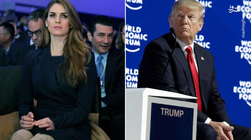 همسران دونالد ترامپ همسر رئیس جمهور همسر دونالد ترامپ فساد جنسی در آمریکا رئیس جمهور آمریکا بیوگرافی هوپ هیکس بیوگرافی دونالد ترامپ hope hicks