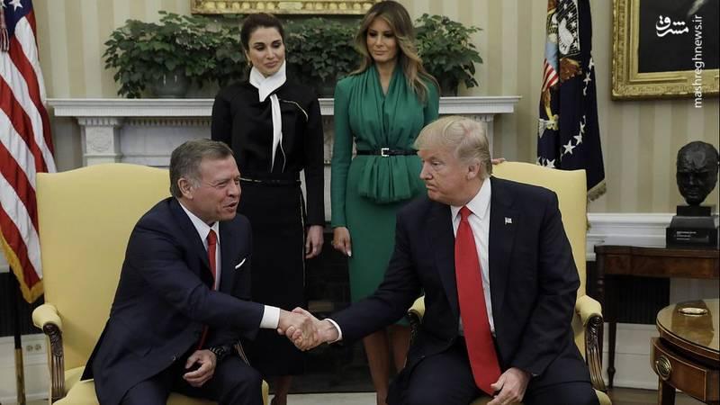 آیا اجرای معامله قرن نزدیک است؟ / پادشاه اردن ، ترامپ و صهیونیسم یهودی!