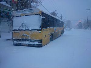 بارش سنگین برف در شهریار