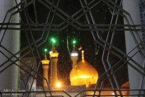 عکس/ بارش رحمت الهی در حرم حضرت معصومه (س)