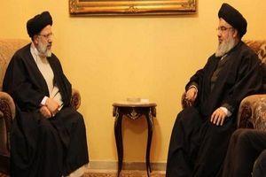 دیدار «سید ابراهیم رئیسی» با سید حسن نصرالله در بیروت