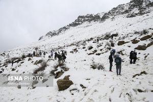 بارش برف در خوزستان