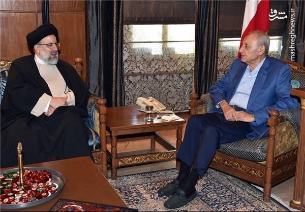 دیدار رئیسی با عبدالامیر قبلان« رئیس مجلس اعلای شیعی لبنان»