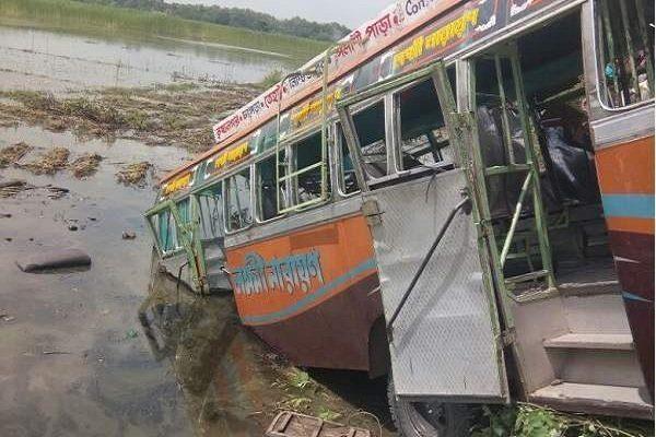 واژگونی اتوبوس در هند