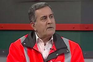 فیلم/ پاسخهای جالب رئیس راهداری در مورد گرفتاری مردم در برف
