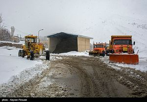 آخرین جزئیات از وضعیت جادهای و بارش برف در سراسر کشور