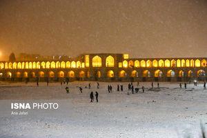 عکس/ چهره زمستانی این روزهای اصفهان