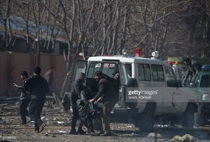 عکس/ حمله تروریستی به دانشگاه نظامی کابل
