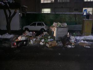 عکس/ خواب زمستانی شهرداری تهران پس از بارش برف