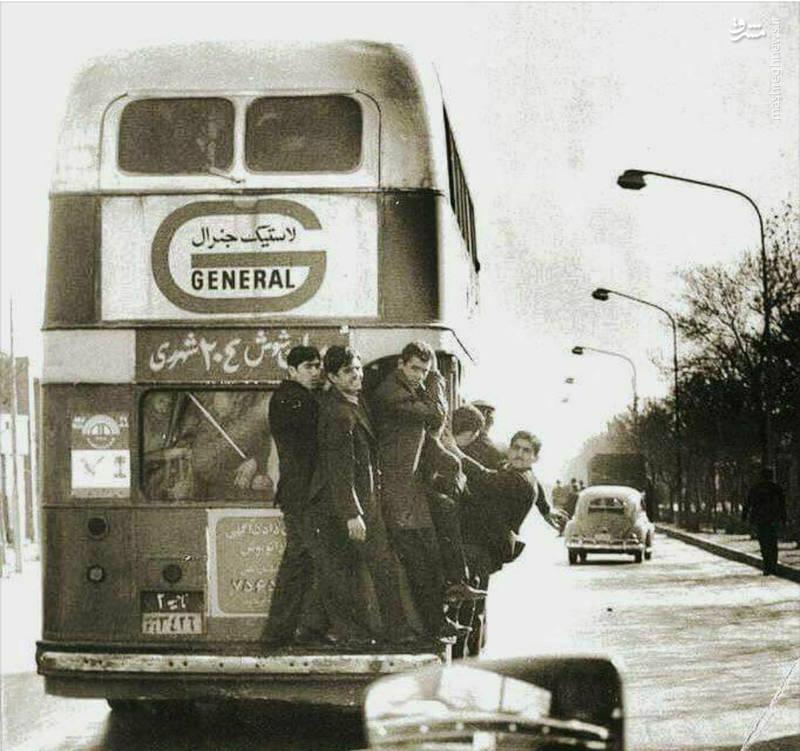اتوبوس دو طبقه خط ۲۰۴ میدان شوش - شهر ری