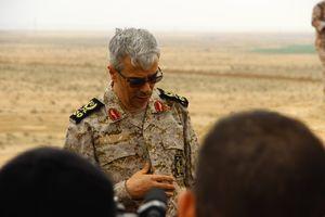 عکس/ حضور سرلشگر محمد باقری در یادمان شهید حسن باقری