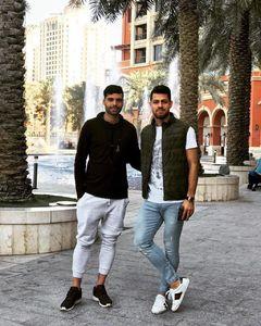 عکس/ دیدار مرتضی پورعلی گنجی با مهدی طارمی در قطر