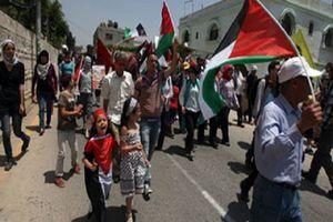 استقبال جالب فلسطینیها از هیأت آمریکایی